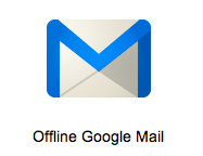 Offlne Google Mail for Chrome gets updated