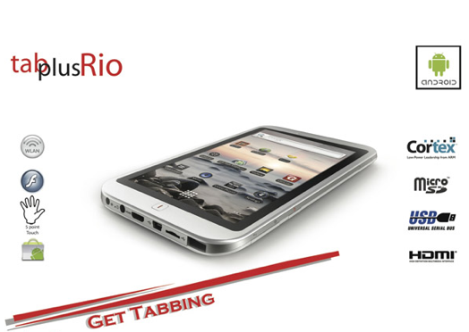Digital Waves Bangalore introduces TabPlus Rio Android Tablet at Rs.11,990