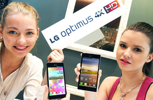 LG's Optimus 4X HD Android ICS 4.0 Smartphone has arrived