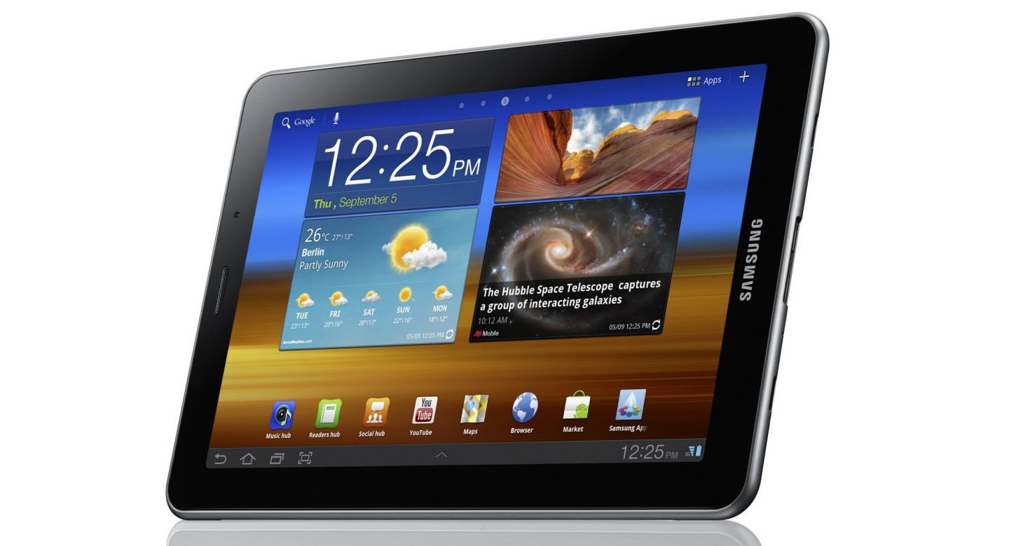 Samsung Galaxy Tab 7.7 arrives India