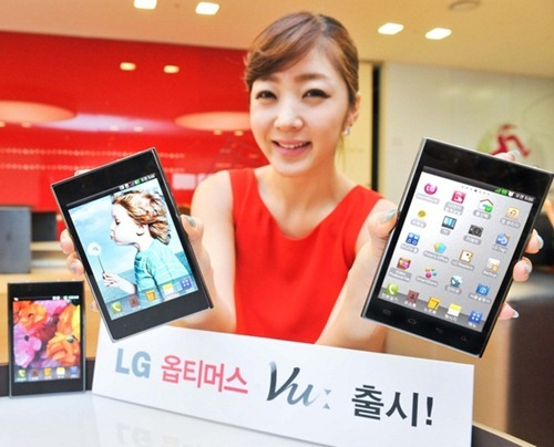 LG Optimus Vu now available in Korea
