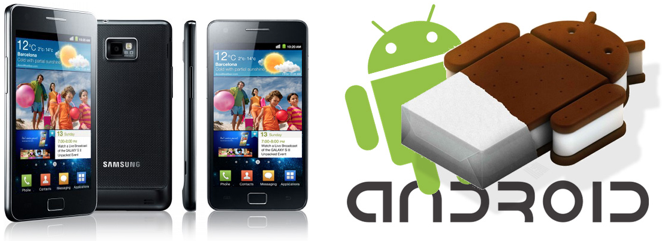 Samsung Galaxy S II gets a taste of Android ICS in Europe and Korea