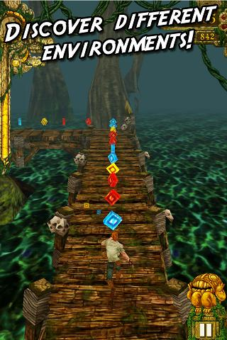 Temple Run for Android update fixes crash issues, adds support for devices