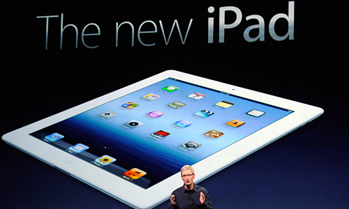 The new Apple iPad has finally arrived, pre-order online