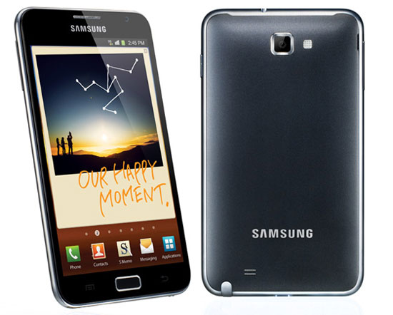 "Android ICS for Samsung Galaxy Note to arrive in Q2, adds ""Premium Suite"" of apps"
