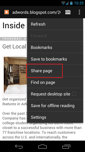 Google+ for Android adds rich web snippets and hashtags for streams