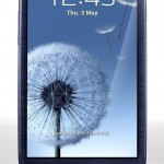 Samsung Galaxy S3 Pebble Blue (Front)