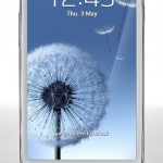 Samsung Galaxy S3 Marble White (Front)