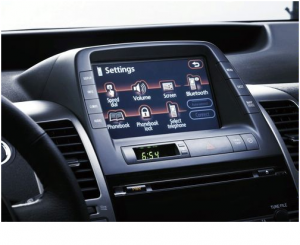 Ford Sync Technology Dashboard