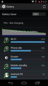 Battery Life Moto X